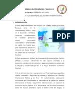 El Peru y La Seguridad Del Sistema Internacional
