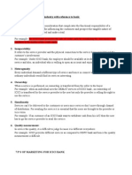 Characteristics of Service Industry With Reference To