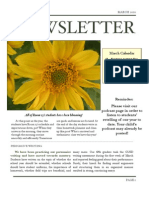 Newsletter March 10