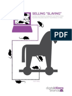 Selling - Slaving