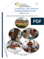 Documento Final Del Diagnostico de Bioemprendimientos de La Region Amazónica-provincia de Orellana