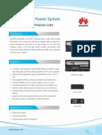 HUAWEI Embedded Power System ETP48200-C5B4&C5B5 DataSheet