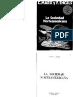 Marx, K. y Engels, F. - La Sociedad a (1860-1865)