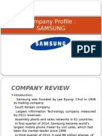 Company Profile SAMSUNG