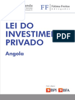 Lei Investimento Privado Angola