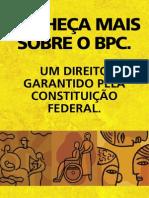 Cartilha BPC MDS Previdencia