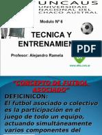 Clase Nº 6 Conceptos Del Futbol Asociado