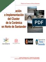Cluster de La Cerámica Para Norte de Santander