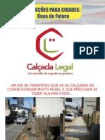 4 anos de Ações do Projeto Calçada Legal