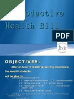 Reproductive Bill