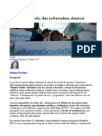 Boscaino, Due Referendum Dannosi Sulla Buona Scuola