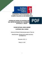 """""""Sistema de Control de Asistencia Del Personal Del Centro de Idiomas de La Universidad Nacional de Trujillo - Cidunt"""""""