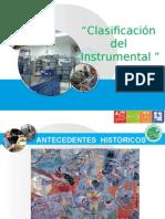 Clasificacion Del Instrumental