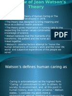 Watson's Philosophy and Science of Caring