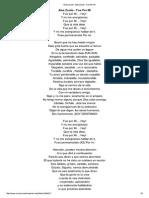 Letra de Fue Por Mi de Alex Zurdo - MUSICA