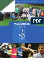 Memorias 2013
