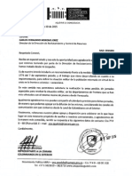 Solicitud formal ante la Dirección de Reclutamiento para llevar las jornadas especiales a la Frontera con Venezuela, que resuelvan la situación militar de los colombianos deportados.
