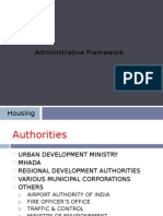 Housing and its framework