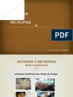 Autopsia Dr Victor Hugo
