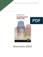 Memoria Tratamiento Familiar 2005