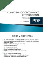 Contexto Socioeconómico Internacional