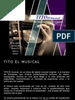 Ejemplo Espectaculo Tito El Musical