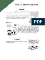 Derechos Del Niño (Con Viñetas de Mafalda)