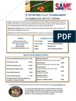 Sport Clay Event and Sponsor Information