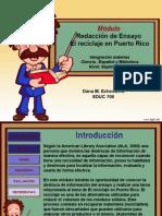 Web Quest El Reciclaje-EnSAYO