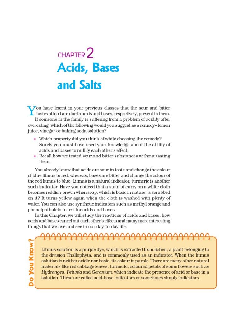 worksheet Note Taking Worksheet Acids Bases And Salts c h2 acids bases salts sodium bicarbonate carbonate