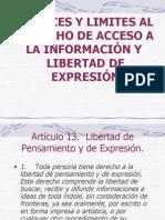 LIMITES DE LIBERTAD DE PRENSA