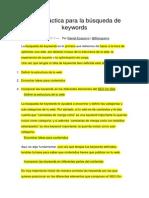 7. Guía Práctica Para La Búsqueda de Keywords