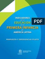 Indicadores Educativos para la Primera Infancia
