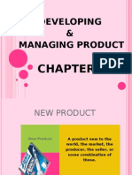 DEVELOPING & MANAGING PRODUCT