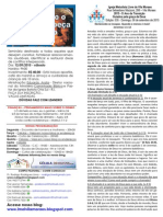 Boletim - 06 de Setembro de 2015