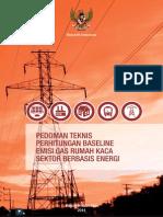 Pedoman Teknis BAU Baseline Bidang Berbasis Energi