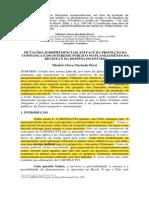Mutacoes Jurisprudenciais Em Face Da Protecao Da Confianca e Do Interesse Publico No Planejamento Da Receita e Da Despesa Do Estado
