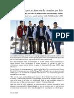 01.12.2014 Apoya Municipio Protección de Tuberías Por Frío