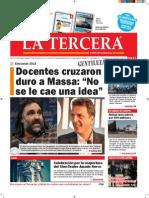 Diario La Tercera 11.09.2015