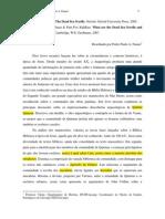 2008 RJHR 1-1 0 Pedro Paulo a. Funari - Resenha 2005 the Dead Sea Scrolls - 2007 What Are the Dead Sea Scrolls and Why Do They Matter