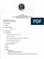 AGENDA Committee on Public Safety