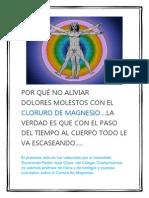 Cloruro de Magnesio, Medicina Milagrosa