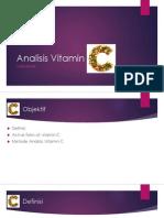 4. Analisis Vitamin C