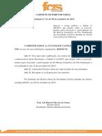 Edital III Mostra Científica de Pos Graduação 2015