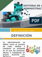 Historia de La Administración 0