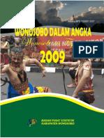 Wonosobo Dalam Angka 2009