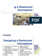 Restaurant ambience and design