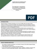 Nift Synopsis PDF