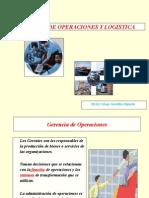 1. Gerencia de Operaciones y Logistica