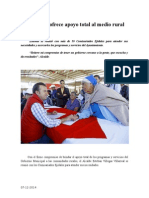 07.12.2014 Municipio Ofrece Apoyo Total Al Medio Rural